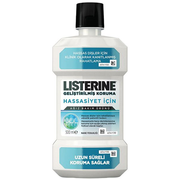 Listerine Advanced Defence Sensitive 500ml Ağız Bakım Suyu