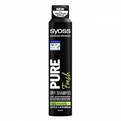 Syoss Pure Fresh Kuru Şampuan 200ml